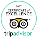 Certificate excellence tripadvisor 2017